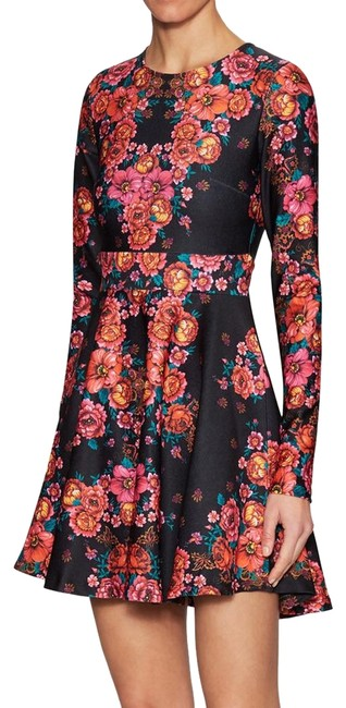 Torn by Ronny Kobo short dress Stretchy Print A-line Longsleeve Floral on Tradesy Image 0