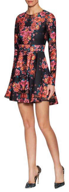 Torn by Ronny Kobo short dress Stretchy Print A-line Longsleeve Floral on Tradesy Image 3