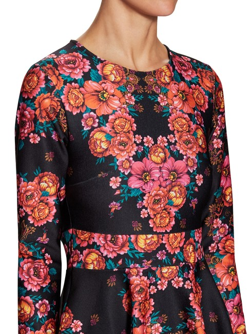 Torn by Ronny Kobo short dress Stretchy Print A-line Longsleeve Floral on Tradesy Image 4