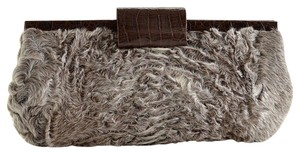 Nancy Gonzalez Brown/Grey Clutch