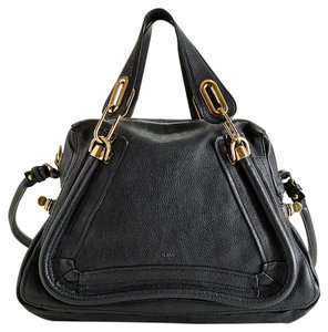 Chloé Chloe Purse Satchel in Black