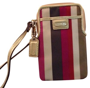 Coach Wristlet in Multi color
