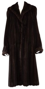 Saks Fifth Avenue Mink Full Length Vintage Fur Coat