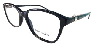 Tiffany & Co. Tiffany & Co. Eyeglasses Black Silver Heart New Authentic