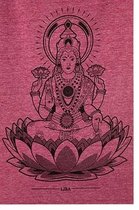Lira Festival Yoga T Shirt Dark Rose