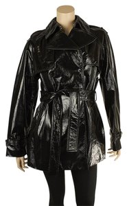 Dolce&Gabbana Patent Leather D&g Leather Jacket