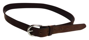 Gap Genuine Leather Dark Brown Belt - Size Medium