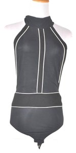 Donna Karan Backless Bodysuite Top Multi-color