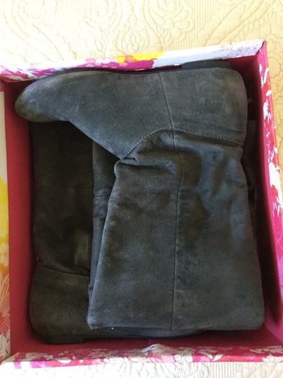 Chinese Laundry Turbo Gray Boots Image 1
