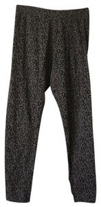 SO Girls Size XL 16 Gray and black leopard Leggings