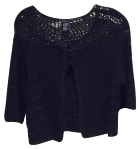 Theory Light Weight Cashmere Crochet Sweater