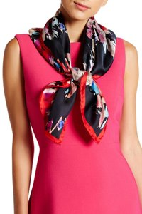 Kate Spade Kate Spade November Blurry Square Silk Scarf