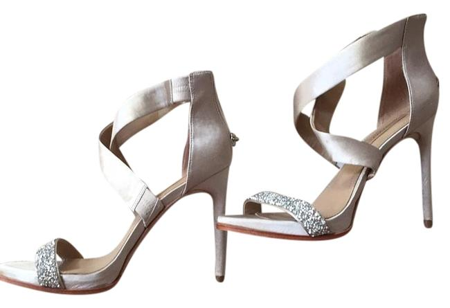 Item - Taupe Dressy Sandal Formal Shoes Size US 8 Regular (M, B)