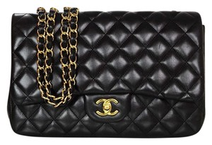 Chanel Quilted Leather Flap Shoulder Bag