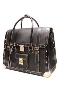 Louis Vuitton L'extravagant Le Extravagant Luggage Satchel in Black Suhali Leather