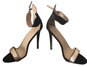 JustFab Black and gold Formal