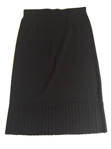 Misook Office Work Skirt Black