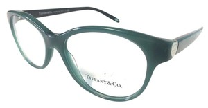 Tiffany & Co. Tiffany Co. Eyeglasses Green w Silver Heart New Authentic
