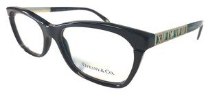 Tiffany & Co. Tiffany Co. Eyeglasses Black w Gold Accents New Authentic