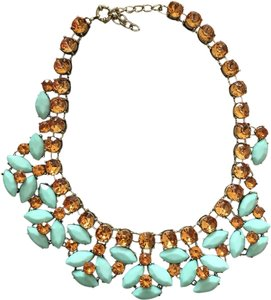 Brown/Turquoise Statement Necklace