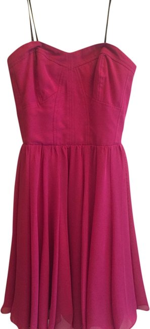 Preload https://item1.tradesy.com/images/guess-fuchsia-above-knee-night-out-dress-size-4-s-1974760-0-0.jpg?width=400&height=650