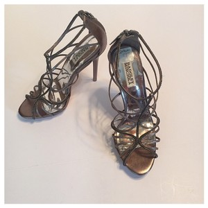 Badgley Mischka Pewter Formal