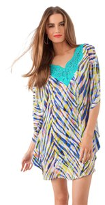 Trina Turk short dress Tropical Tiger Multi on Tradesy