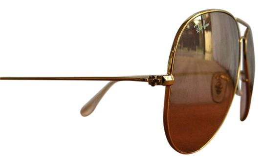 Big Gold Frame Sunglasses : Ray-Ban RB 3025 Large Gold Aviator Frame Sunglasses Unisex ...