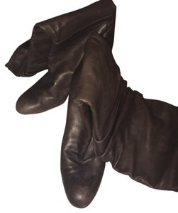 Manolo Blahnik Ash Brown Boots