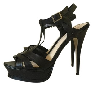 Bakers Sandals Black Platforms