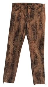 Ralph Lauren Skinny Pants Brown, tan and dark brown