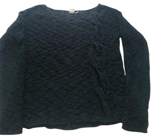 Anthropologie Cable Dark Comfy Knit Sweater