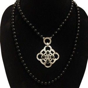 Chanel Chanel Double Strand Medallion Necklace
