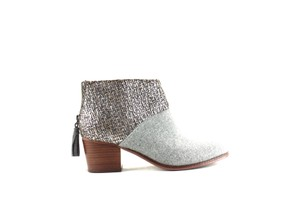 TOMS Bootie Grey Chunky Grey, Multi-color Boots