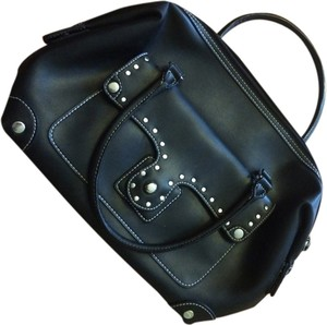 Maxx New York Studded Satchel in Black