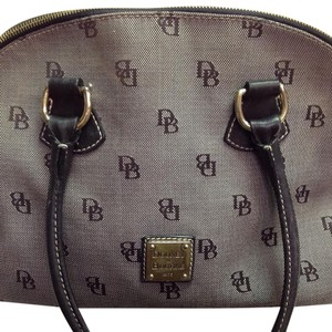 Dooney & Bourke Satchel in Black And Gray