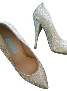 Betsey Johnson Iradescent Sparkles Pumps