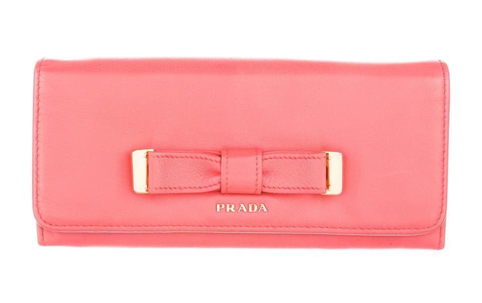 56d735abb77b Red Prada Wallet With Bow | Stanford Center for Opportunity Policy ...