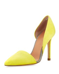 L.A.M.B. yellow Pumps