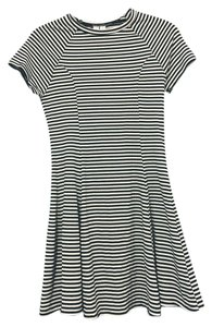 Under Skies short dress Black and white striped on Tradesy