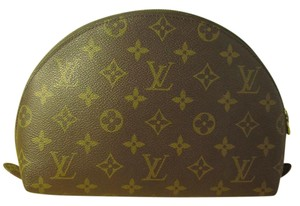Louis Vuitton Louis Vuitton Cosmetic Pouch Monogram Demi Ronde 23
