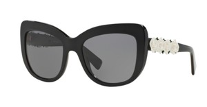 Dolce&Gabbana DG 4252 921/81 - Gorgeous Black Dolce Sunglasses with White Roses - FREE 3 DAY SHIPPING