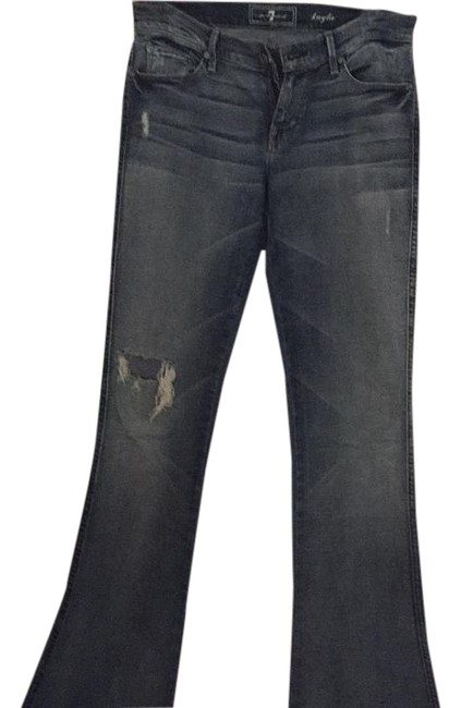 Preload https://img-static.tradesy.com/item/19748748/7-for-all-mankind-kaylie-flare-leg-jeans-size-28-4-s-0-1-650-650.jpg