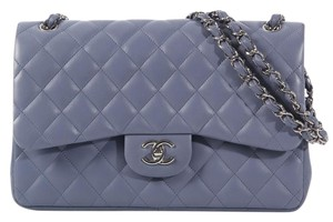 Chanel Quilted Cc Ch.k0815.05 Purple Shoulder Bag