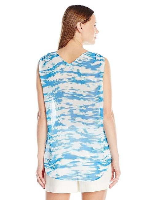 Vince Camuto Top blue and white Image 1