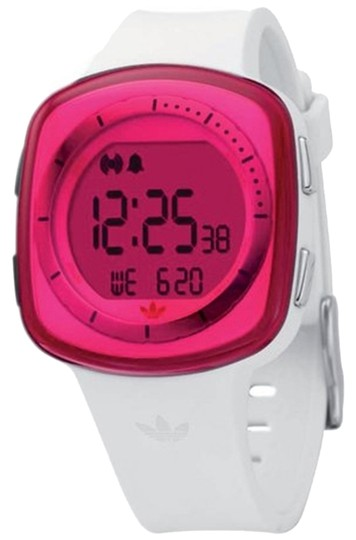 adidas ADH6023 Female Sports Watch White Digital/Comes With Generic Box