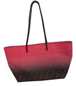 Fendi Tote in Brown and pink