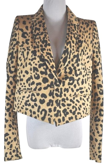 Preload https://img-static.tradesy.com/item/19748841/givenchy-multi-color-leopard-print-cotton-single-button-closure-blazer-size-4-s-0-1-650-650.jpg