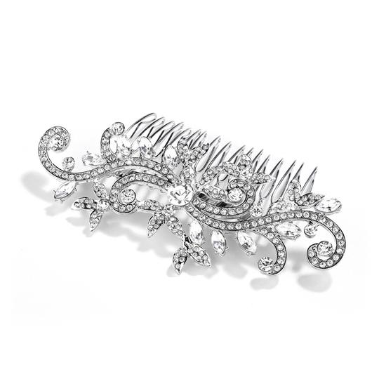 Preload https://img-static.tradesy.com/item/19748842/mariell-silver-or-comb-with-pave-crystal-vines-4027hc-g-hair-accessory-0-0-540-540.jpg