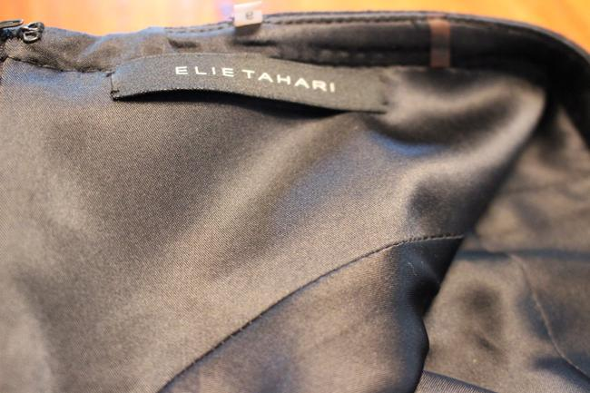 Elie Tahari Classic Slimming Wool Fully Lined Designer Skirt Black